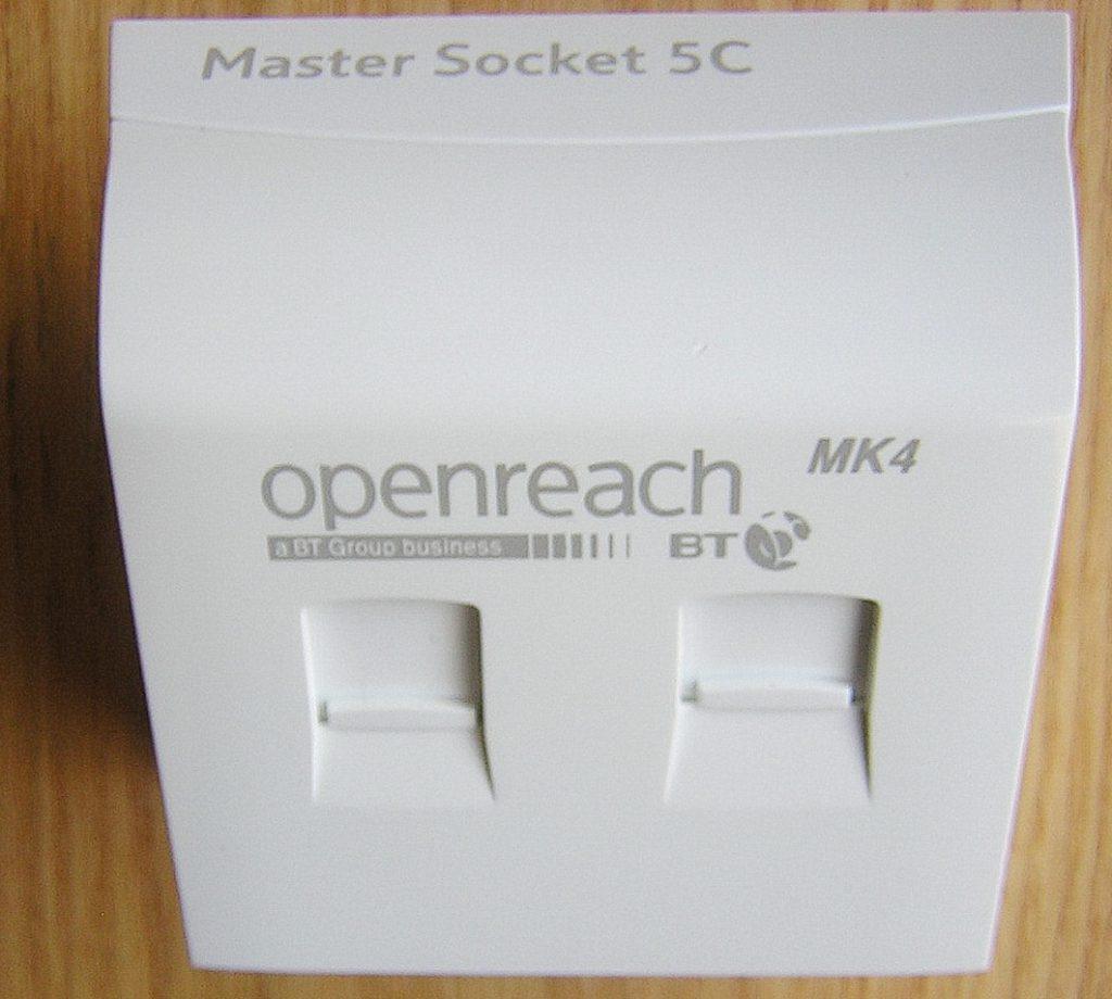 BT Openreach New NTE5C Master Socket – Faster Broadband?